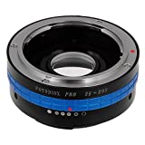 Fotodiox Lens Mount Adapter w/ Dandelion AF Focus Confirmation Chip, Mamiya ZE (35mm) Lens to Canon EOS Camera
