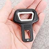 #2: Car Seat Belt Buckle Alarm Stopper / Bottle Opener Black