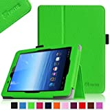 Fintie E FUN Nextbook Premium 8HD SE NX008HD8G Tablet Folio Case Cover - Premium Leather With Stylus Holder 3 Years Warranty [June 2013 Wal-Mart Release] - Green