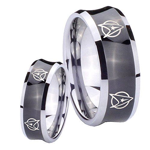 star - Star Trek Wedding Ring