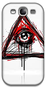 The Racoon Lean Doodler hard plastic printed back case / cover for Samsung Galaxy S3
