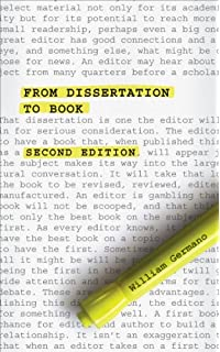 Dissertation to Book | HSS Graduate and Early Career Caucus