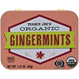 Trader Joe's Organic Gingermints 40g., 50 Mints (Pack of 2)