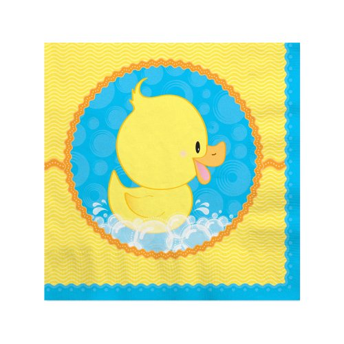 Ducky Duck Beverage Napkins (16 Count) front-669604