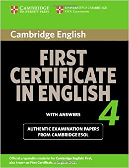 Amazon.fr - Cambridge First Certificate in English 4 for Updated Exam Student's Book with