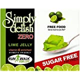 Simply Delish Sugar Free Instant Lime Jelly 8 g (Pack of 8)
