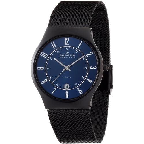 [スカーゲン]SKAGEN 腕時計 basic titanium mens T233XLTMN ケース幅: 37mm メンズ [正規輸入品]