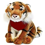 Realistic Series Tiger Plush Toy 11in Trade Show Giveaway