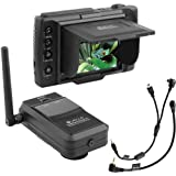 Vello FreeWave Viewer VL Wireless Live View Remote Kit With AV Shutter Infrared Cables For Select Canon Cameras