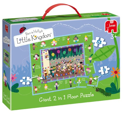 Cheap Jumbo Jumbo Ben & Holly's Little Kingdom Giant Floor Puzzle (35 Jigsaw Pieces and 18 Border Pieces) (B003Z0BNE4)