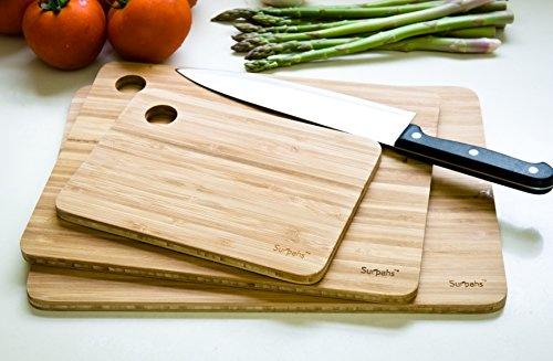 Surpahs kitchen layer cross laminated bamboo cutting