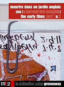 Coffret Peter Greenaway 4 DVD : Meurtre dans un jardin anglais / ZOO / The Early Films Part 1 / The Early Films Part 2