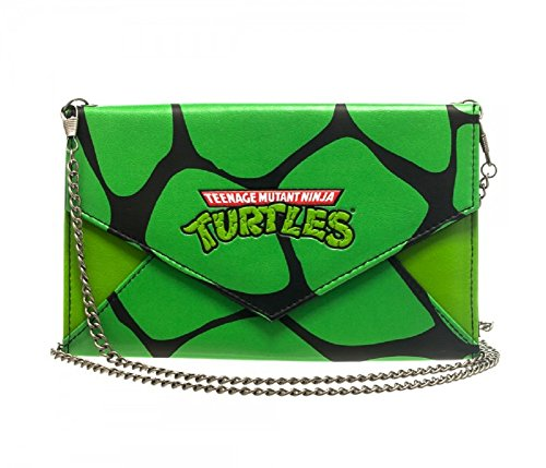 Teenage Mutant Ninja Turtles Envelope Wallet with Chain