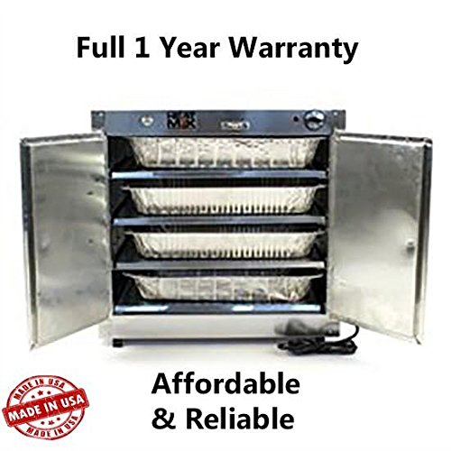 HeatMax 25x15x24 Commercial Hot Box Catering Food Warmer, Hot Food, Pizza, Pastry, Empanada, Patty, Concession, Heated Case (Concession Stand Boxes compare prices)