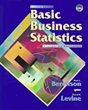 Basic Business Statistics by Mark L. Berenson