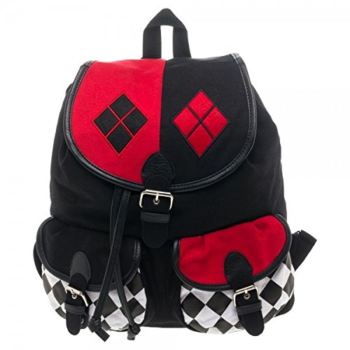 DC Comics Harley Quinn Knapsack Backpack at Gotham City Store