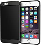 iPhone 6 Case, roocase [EXEC TOUGH] iPhone 6 4.7 Slim Fit Hybrid PC / TPU Armor Case for Apple iPhone 6 4.7, Granite Black