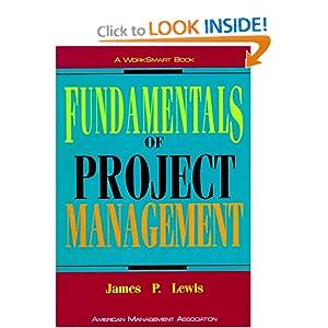 Fundamentals of Project Management (Worksmart) James P. Lewis