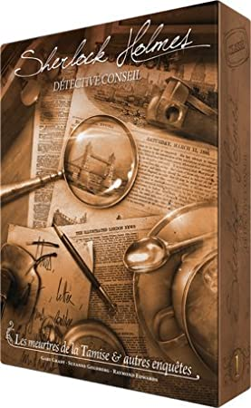 Sherlock Holmes Détective Conseil - Les Meurtres de la Tamise & autres enquêtes