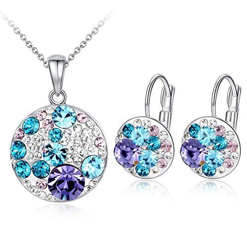 ocean-bubble-multi-stone-blue-purple-swarovski-elements-crystal-circle-pendant-necklace-earring-jewe
