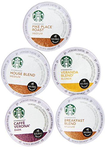20-count K-cup for Keurig Brewers Flavored Coffee Variety Pack Featuring Starbucks Cups