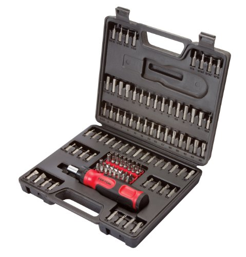 TEKTON 2840 Everybit Ratchet Screwdriver and Bit Set, 105-Piece