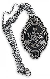 "The Twilight Saga: New Moon Merchandise - Rosalie's Necklace (Size: Cullen Crest: 2"" x 3"" Chain: 16"")"