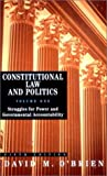 Struggles for Power and Governmental Accountability (Constitutional Law and Politics) (039397748X) by David M. O'Brien