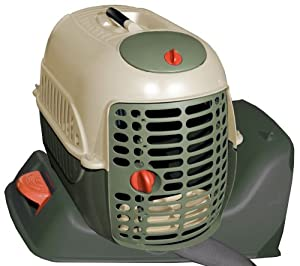 Pet Gear Auto Carrier & Kennel for cats and dogs up to 15-pounds, Sage
