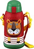 TIGER <サハラクール> ステンレスボトル ライオン0.63L ポーチ付き MML-A06G-EL