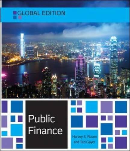Public finance. Global edition (Economia e discipline aziendali)