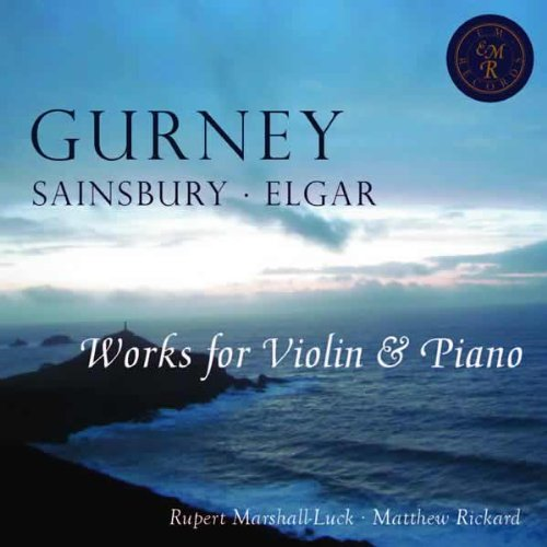 Buy Works for Violin & Piano - Rupert Marshall-Luck, violin From amazon