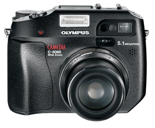 Olympus Camedia C-5060 5.1 MP Digital Camera w/4x Optical Zoom