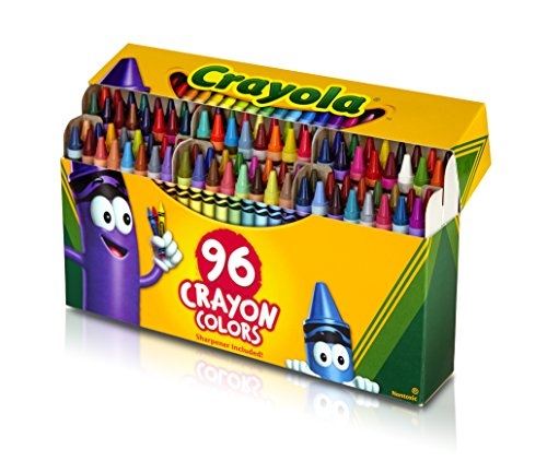 Crayola Classic Color Pack Crayons, Wax, 96 Colors per Box  (52-0096)