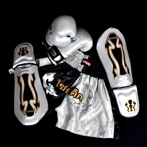Sidekick Titan Kids Childs Kickboxing Muay Thai Boxing Gear Equipment Set