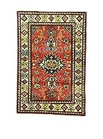 Eden Carpets Alfombra Uzebekistan Rojo/Multicolor 152 x 103 cm