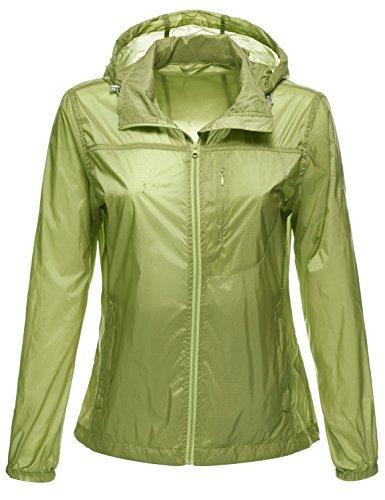 Luna-Flower-Womens-Packable-Water-Resistant-Lightweight-Rain-Wind-Jackets