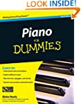 Piano for Dummies, Second Edition Boo...