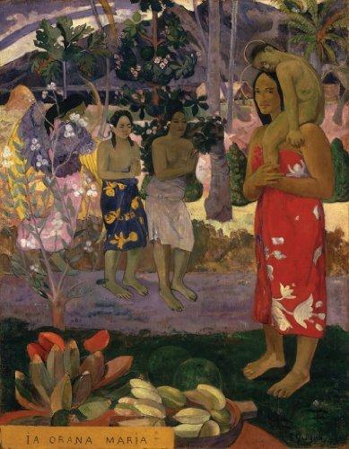 Artifact Puzzles - Gauguin La Orana Maria Wooden Jigsaw Puzzle
