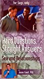 echange, troc Hard Questions, Straight Answers: For Guys Only [VHS] [Import USA]