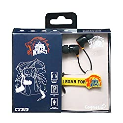 Cognetix Chennai Super Kings Earphone - CX314-WP