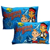 Jake Neverland Pirates 2 Pillowcases Set Shipwreck Beach
