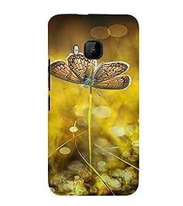 PrintVisa Butterfly Design 3D Hard Polycarbonate Designer Back Case Cover for HTC One M9