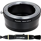 Fotodiox Pro Lens Mount Adapter, Nikon Lens to Micro Four Thirds Cameras