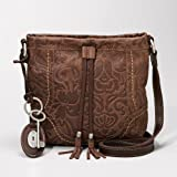 Fossil Winslet Small Embossed Leather Crossbody
