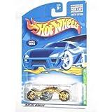 2001 Treasure Hunt #5 Blast Lane Gold #2001-5 Collectible Collector Car Mattel Hot Wheels