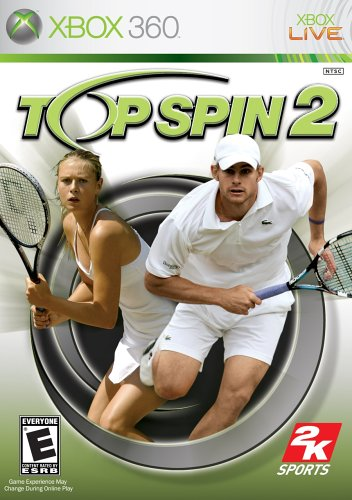 Top Spin 2 - Xbox 360 front-307483