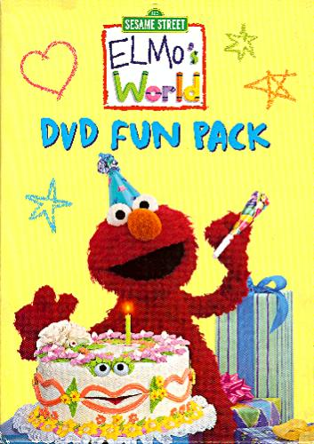 Amazon.com: Sesame Street - Elmo's World - DVD Fun Pack