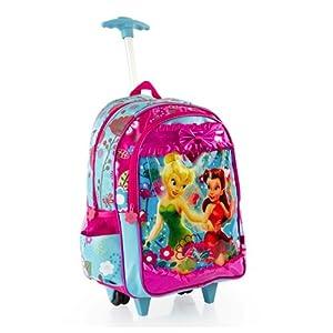 Heys Disney Fairies Rolling Backpack