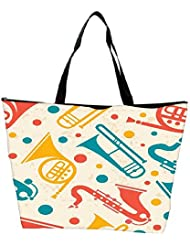 Snoogg Music Instruments Designer Waterproof Bag Made Of High Strength Nylon